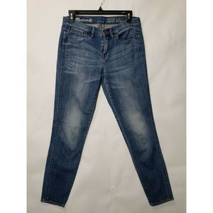 Madewell Women's skinny ankle blue jeans Size 28